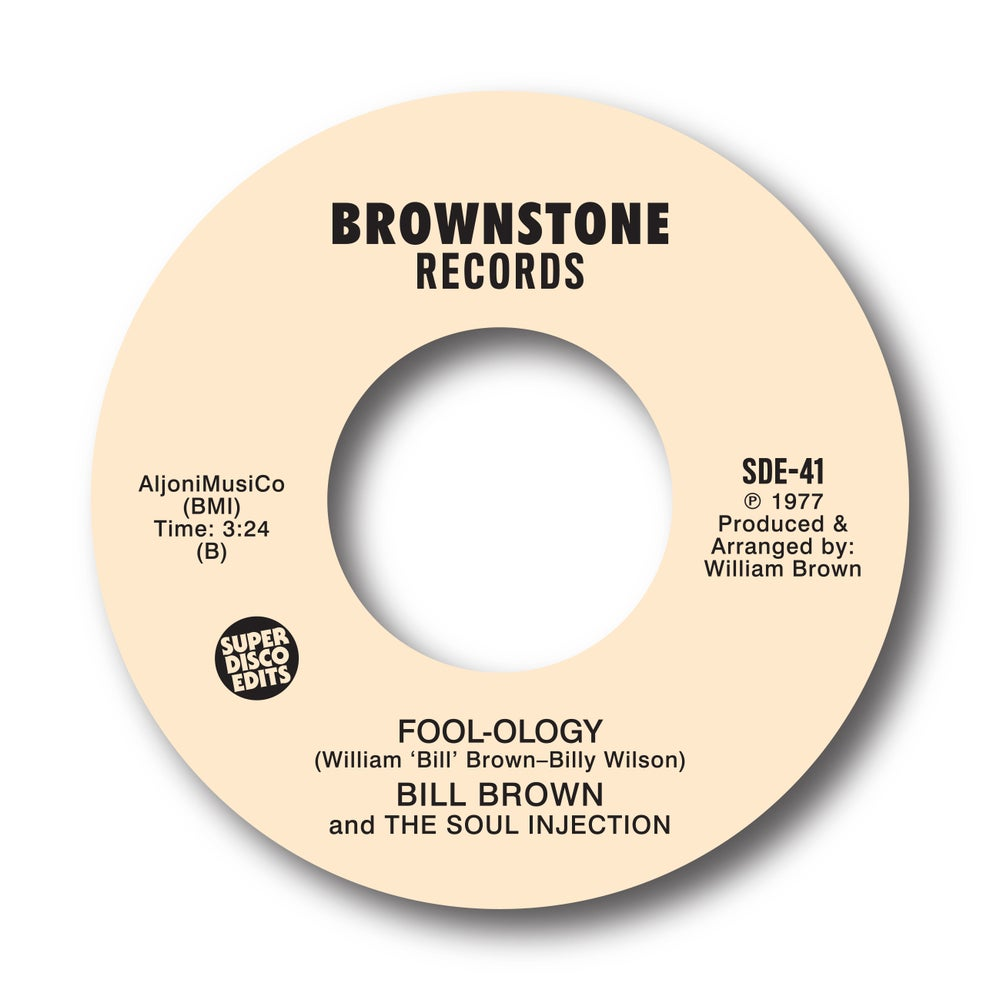 """Bill Brown & The Soul Injection """"Love under the apple tree"""" Brownstone"""