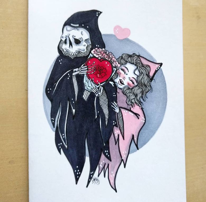 Image of One off random card commission