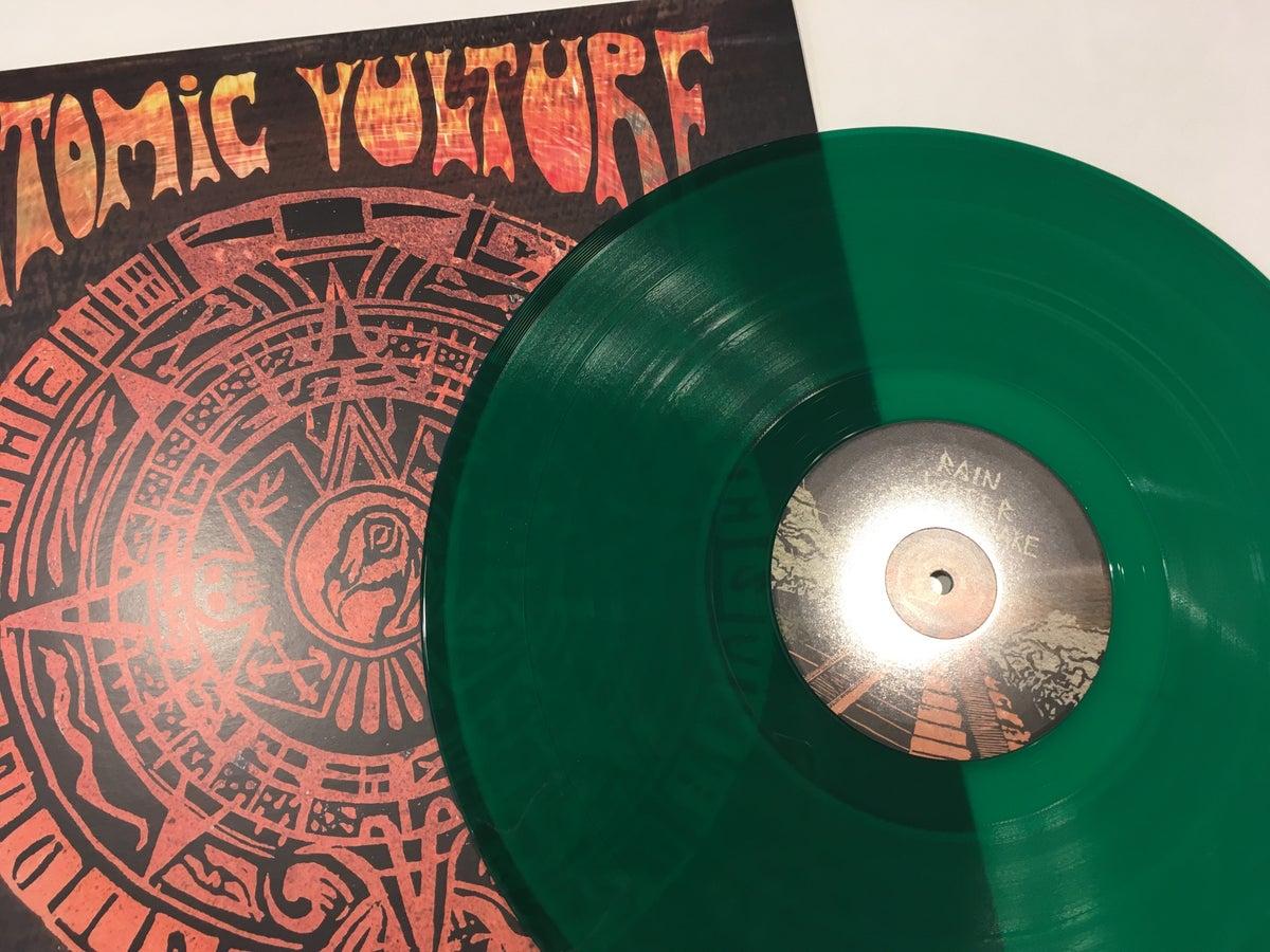 Image of Atomic Vulture - Stone Of The Fifth Sun - EP (Vinyl)