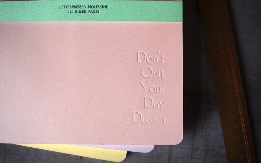 Image of Letterpress Daydreamer Journal