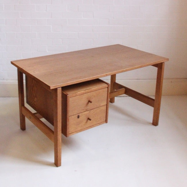 Image of Hans Wegner desk, Oak 1968