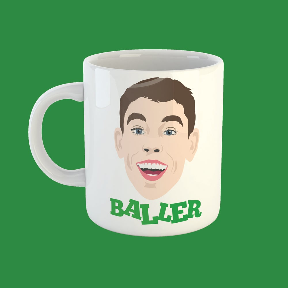 Image of Ryan Christie is a baller mug