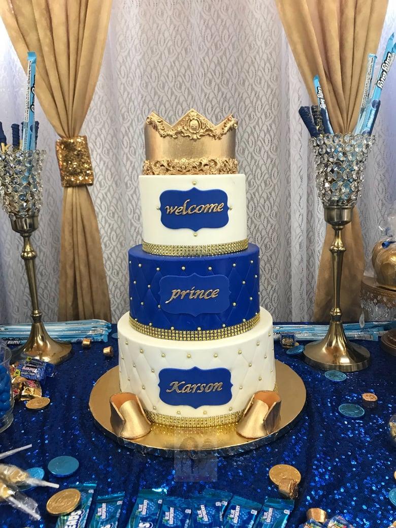 Image of Fondant 3-tier Cake