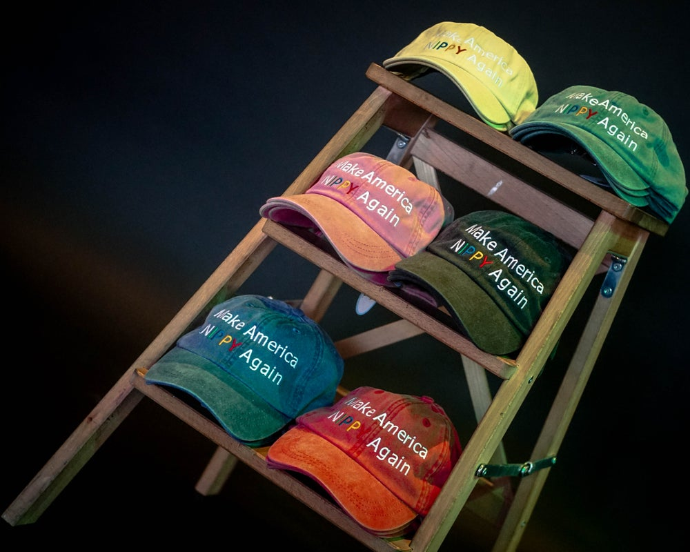 Image of Make America Nippy Again Dad Hats