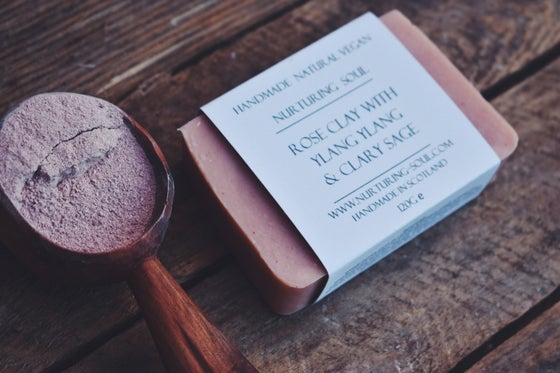 Image of Rose Clay With Ylang Ylang & Clary Sage
