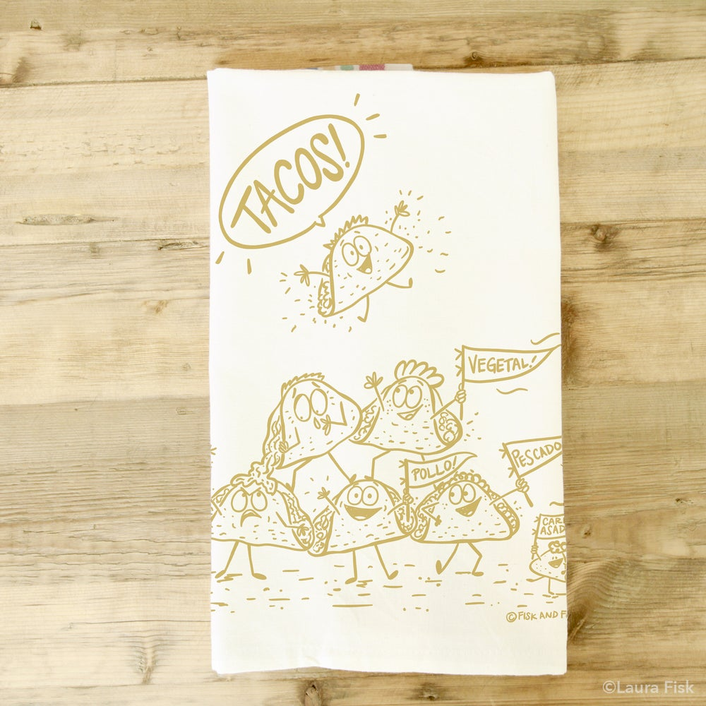 Image of Tacos Tea Towel