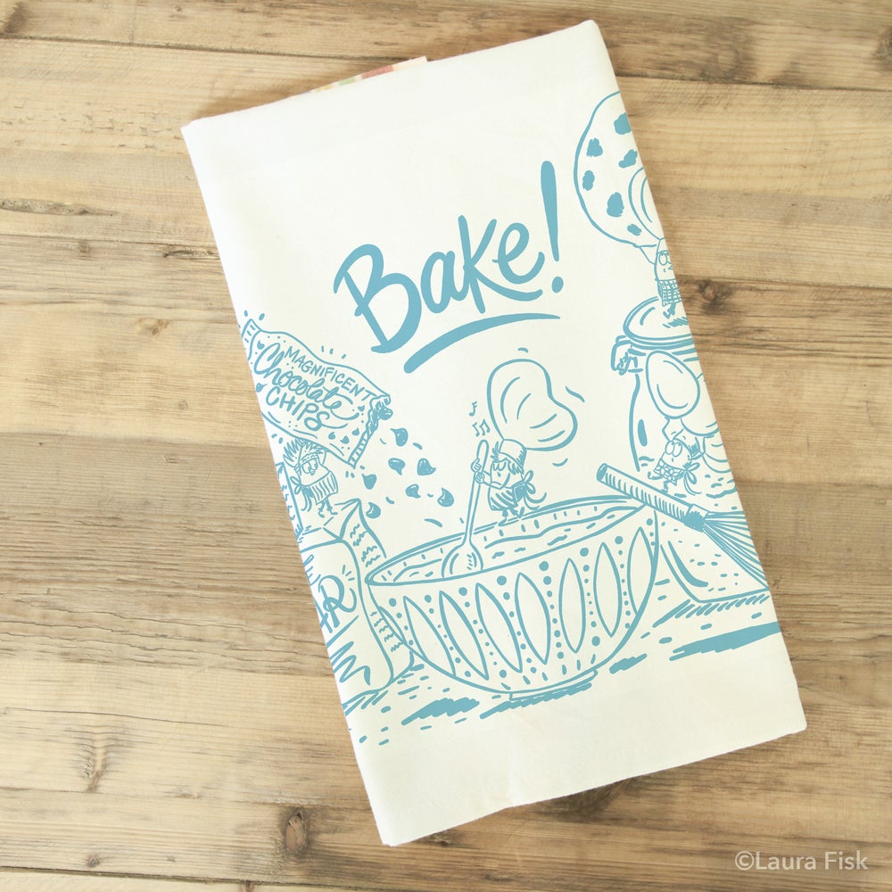 Image of Bakers Baking Tea Towel
