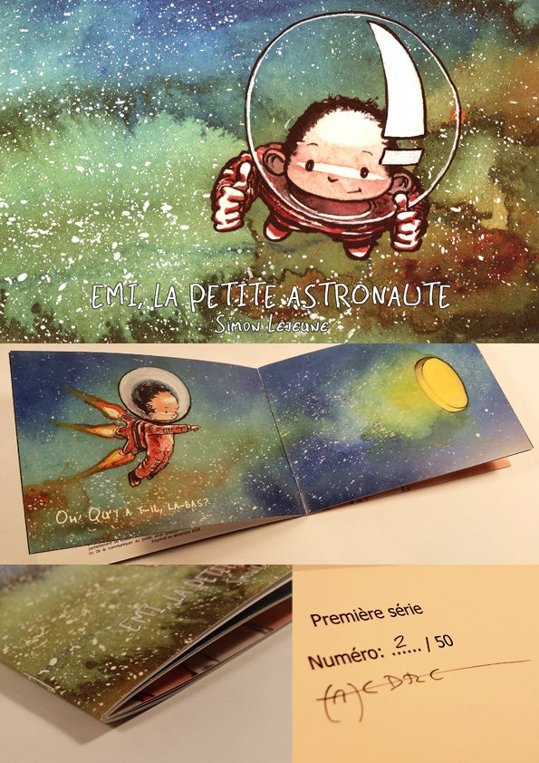 Image of Emi, la petite astronaute: Livre pour enfants.