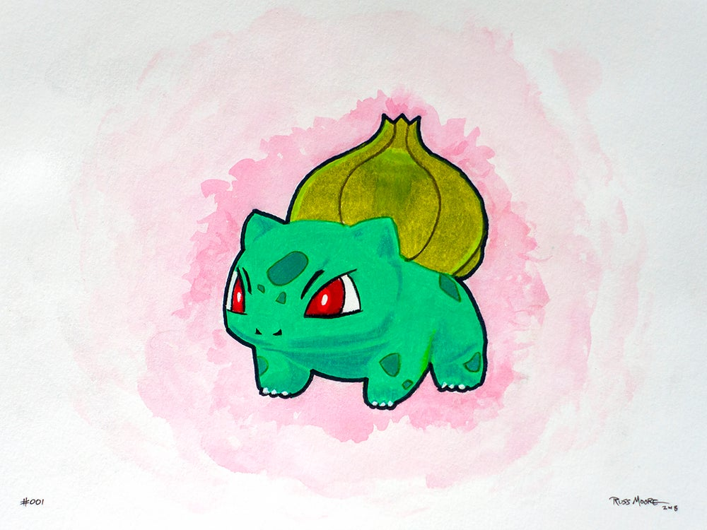 bulbasaur 001 great unknown publishing