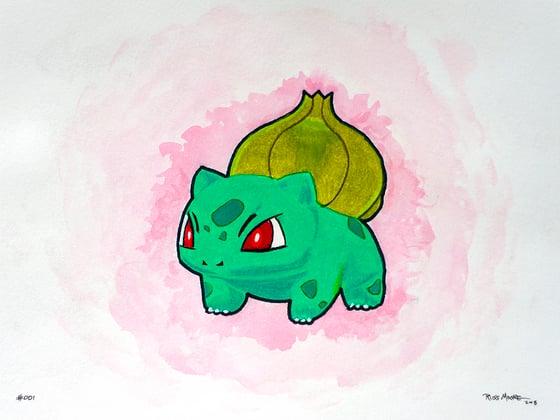 Image of Bulbasaur #001