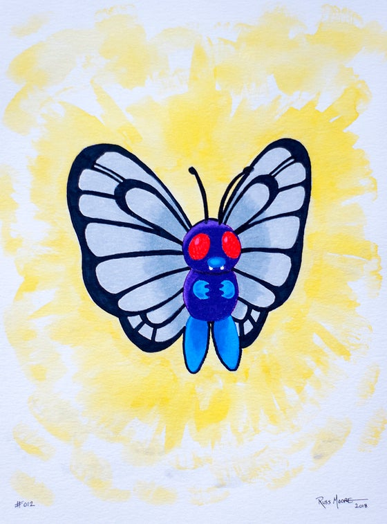 Image of Butterfree #012