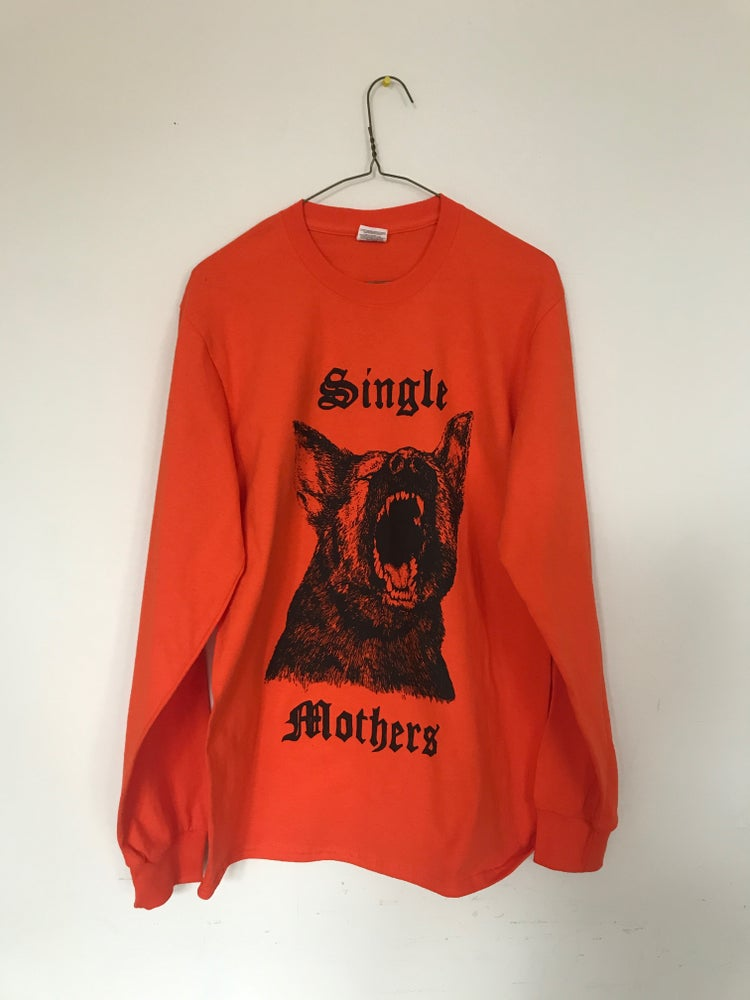 Image of SM 'DOG PARKS' ORANGE L/S