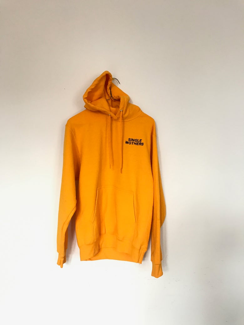Image of NQ 'Limited Golden Yellow' HOODIE