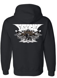 Image of tune in hoodie zip up