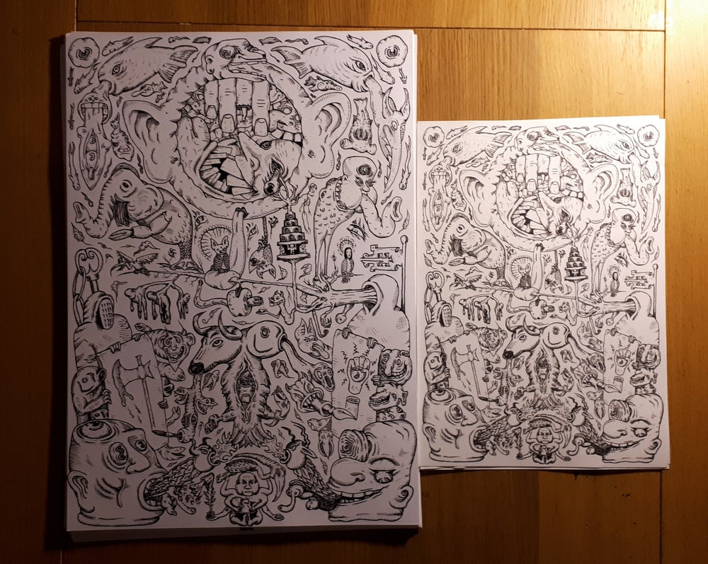 Image of Prints of illustration by Daniel Hughes