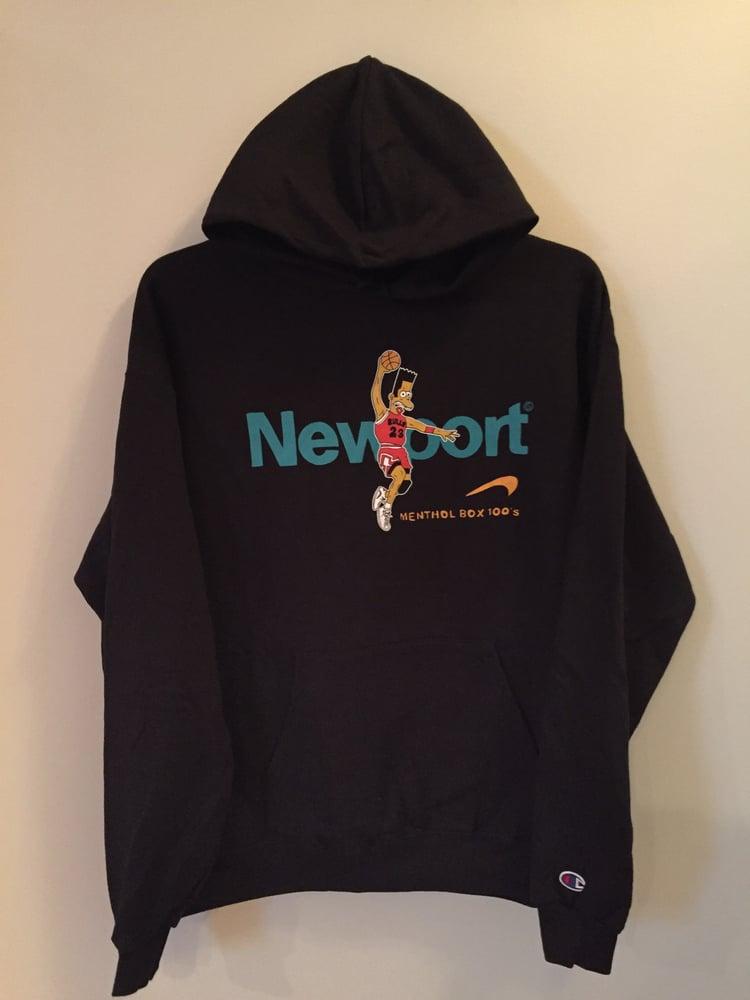 Image of Newport Jordan Black Hoodie