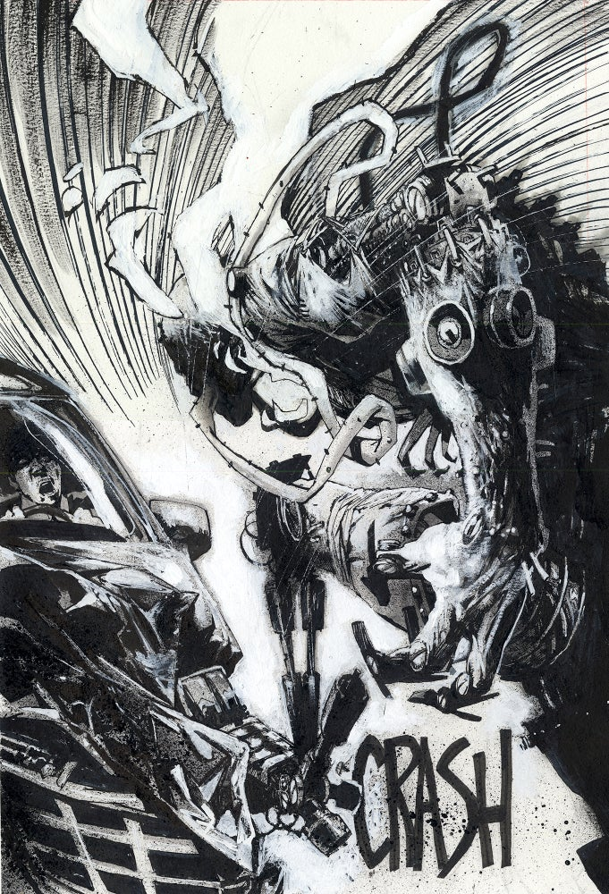 Image of Spawn Original Art page 1, issue 289