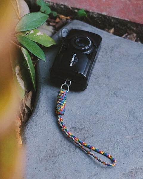 Image of Camera lanyard handle (snake knot)