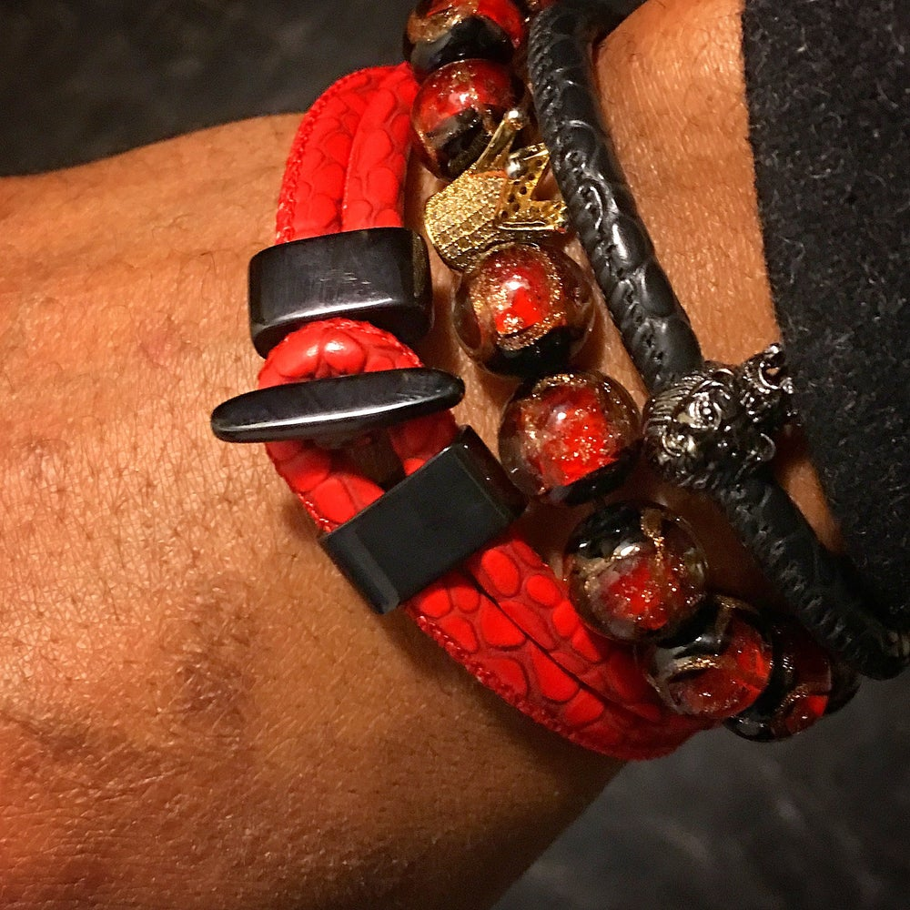 Image of Detroit Red Stingray Bracelet