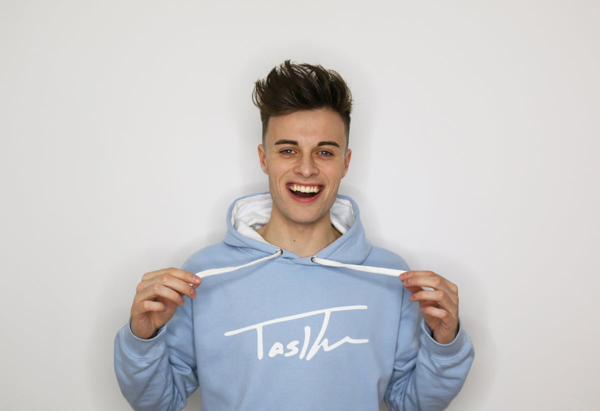 Image of Blue Signature Hoodie