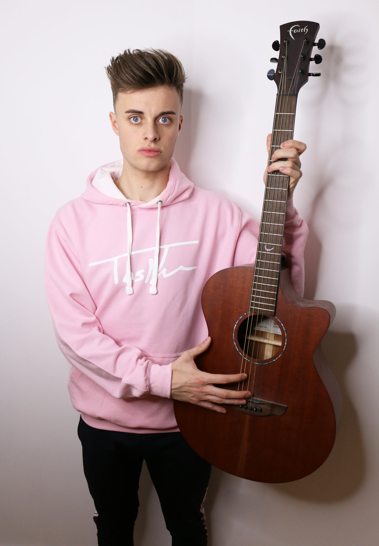 Image of Pink Signature Hoodie