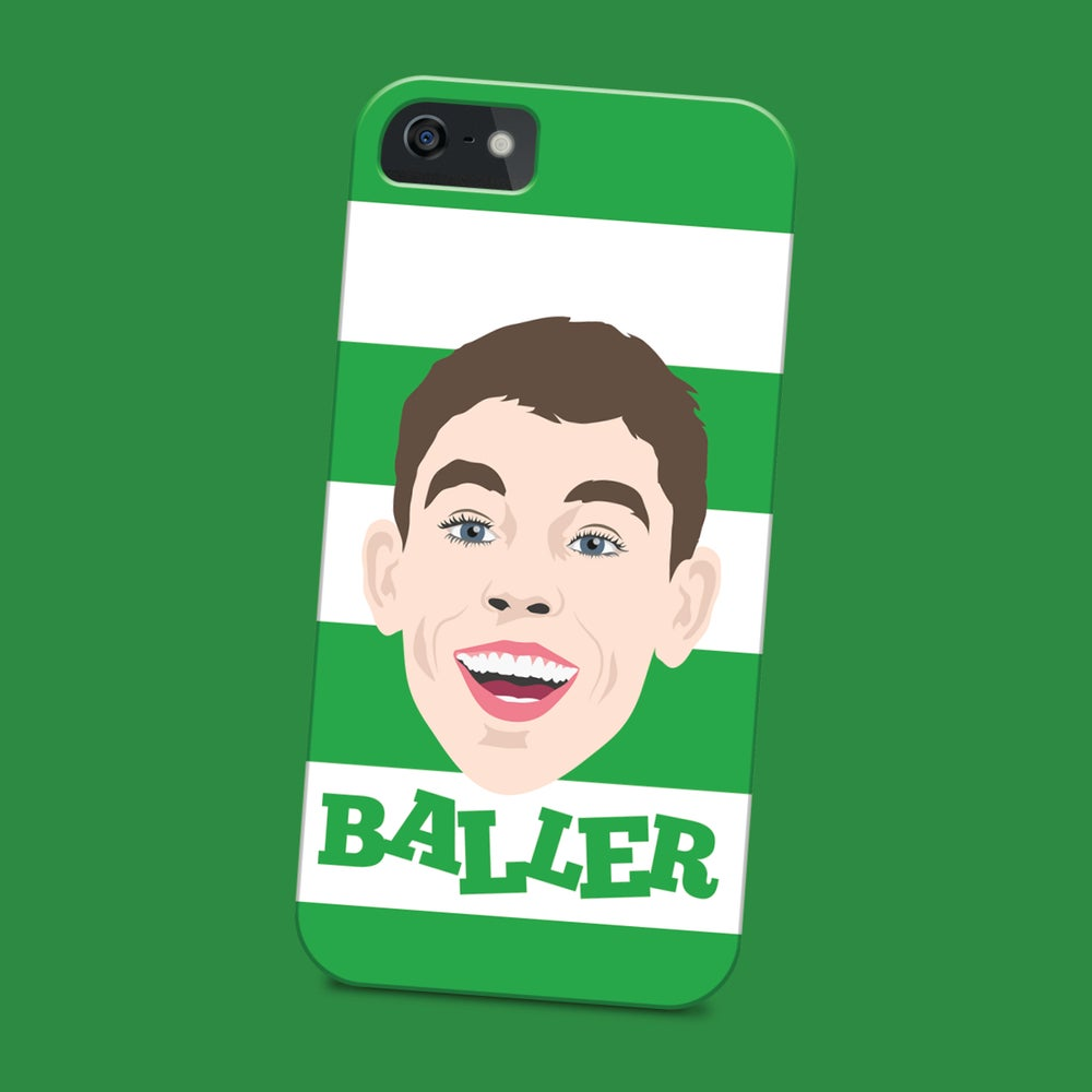 Image of Ryan Christie is a baller phone case
