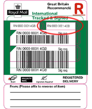 Image of Non UK - International Tracked & Signed Postage Upgrade