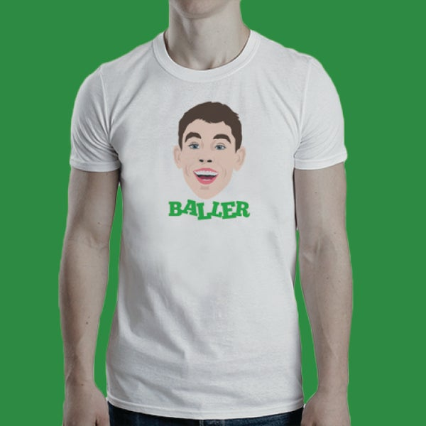 Image of Ryan Christie is a baller t-shirt