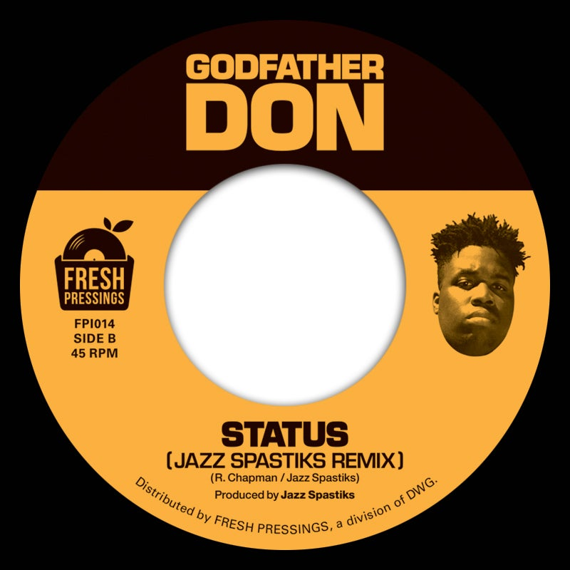 "Image of Godfather Don 'Status' (OG) / (Remix) (FPI014) 7"" REPRESS"