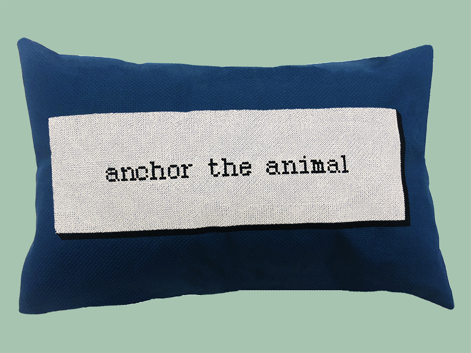 Image of in the crossed world of animals by Terri Witek / anchor the animal