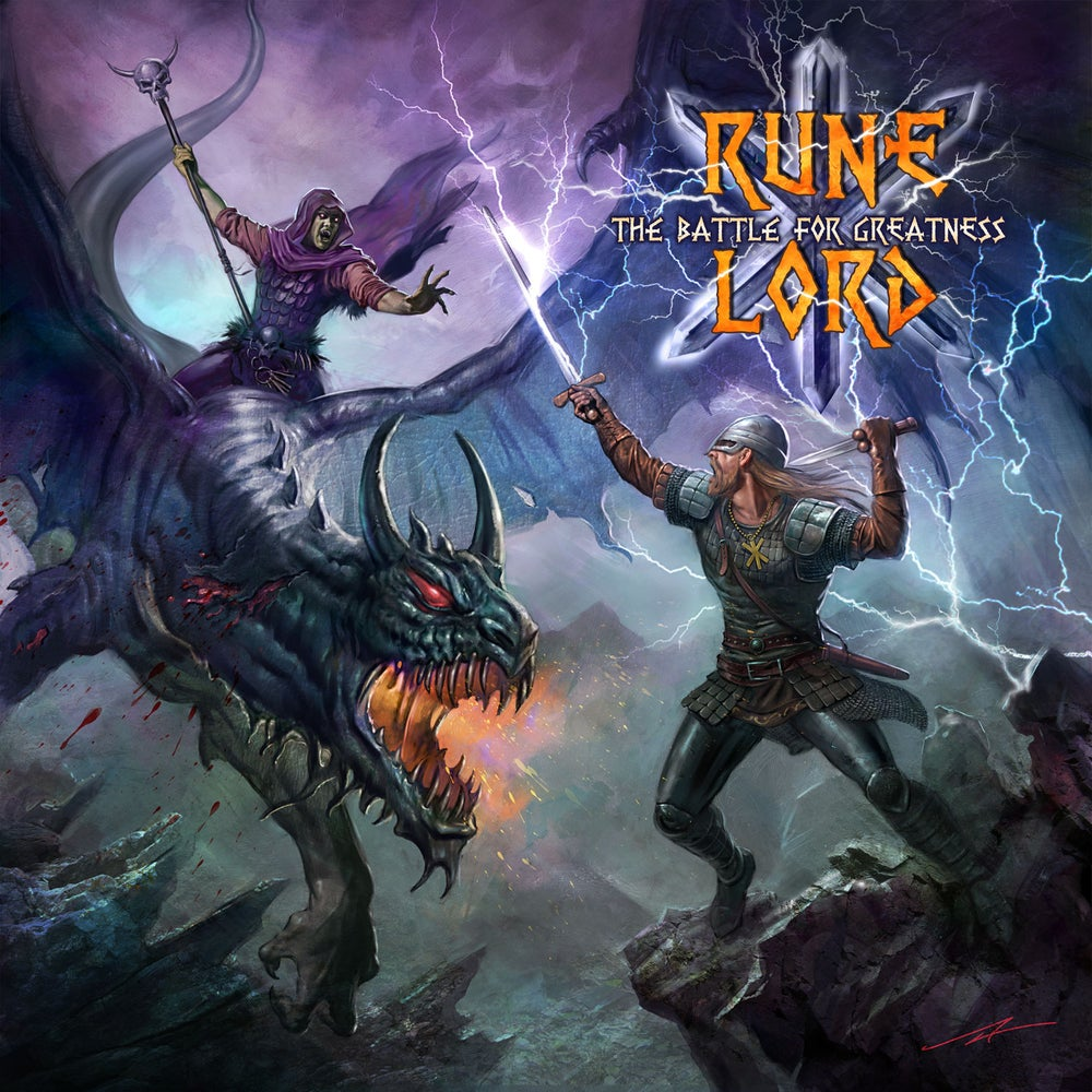 RUNELORD - The Battle for Greatness CD
