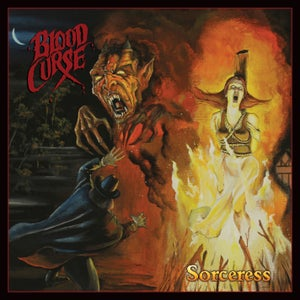 Image of BLOOD CURSE - Sorceress CD