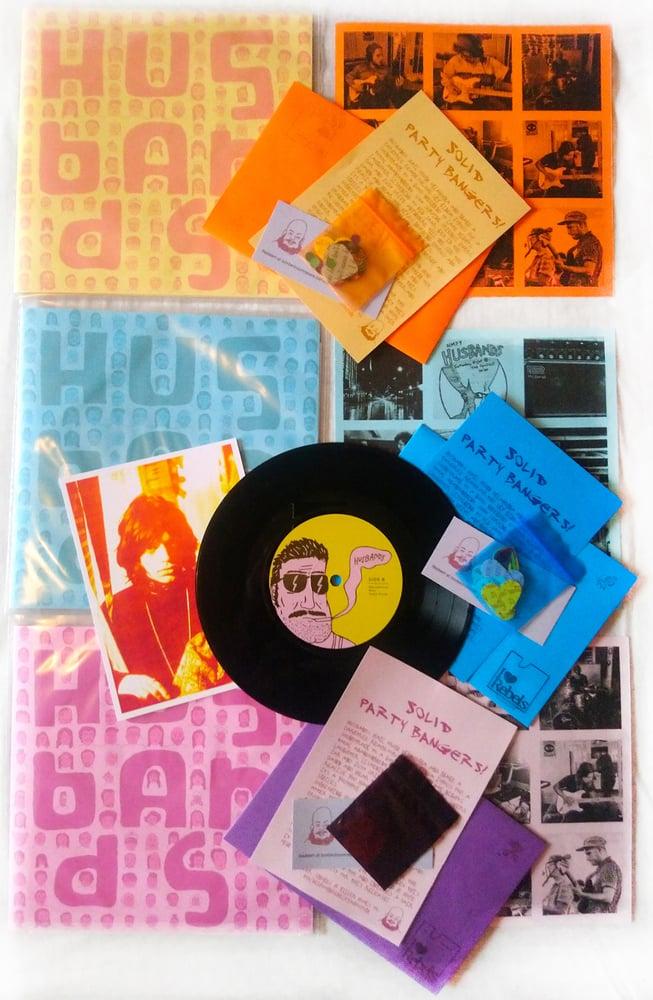 Image of BBR#33 HUSBANDS 7 Track Limited Edition 'Karlstad' EP