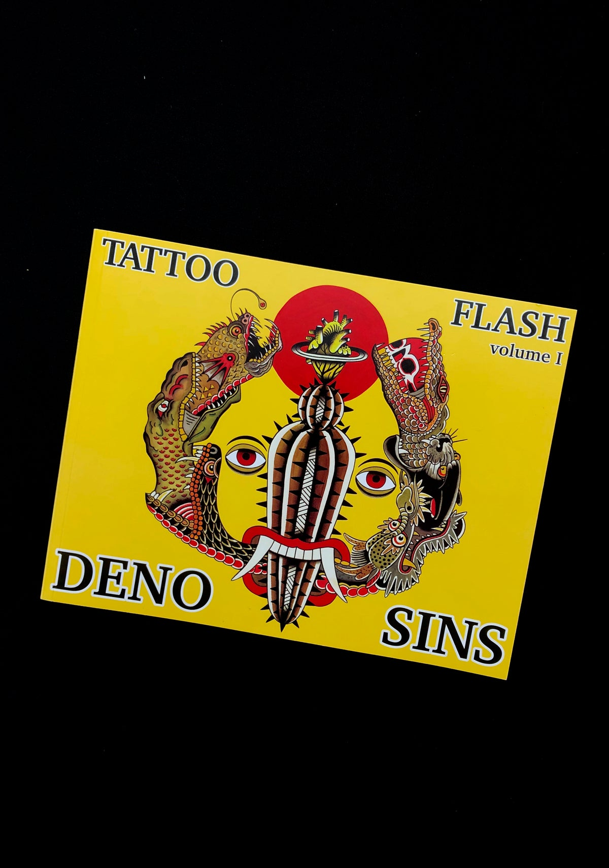 Image of Deno x Sins Tattoo Flash Book