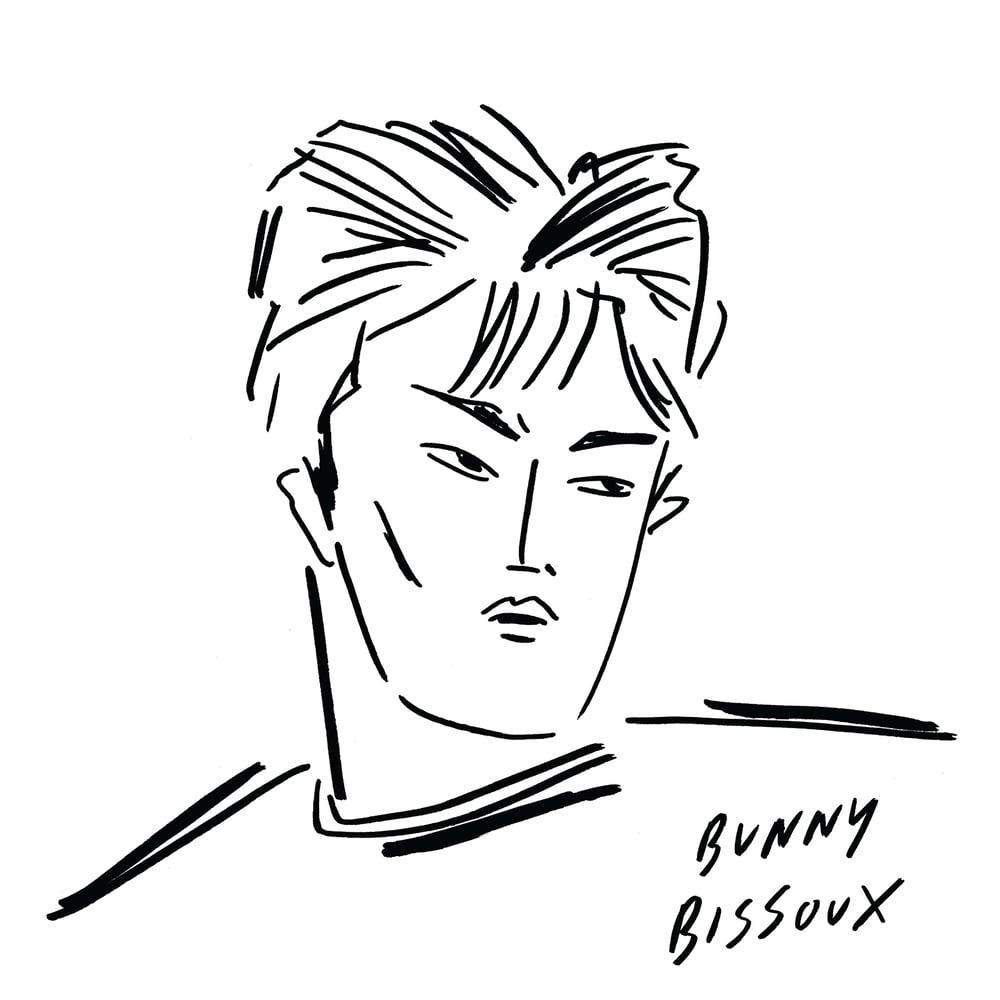 Image of BUNNY BISSOUX - BOY - TOTE BAG - MINT / LIGHT PISTACHIO