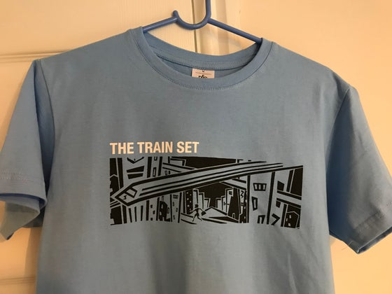 Image of Train Set, shes gone t shirt