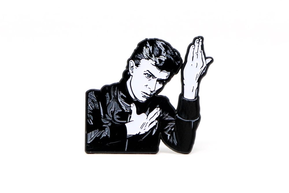 Image of David Bowie - Heroes Enamel Pin