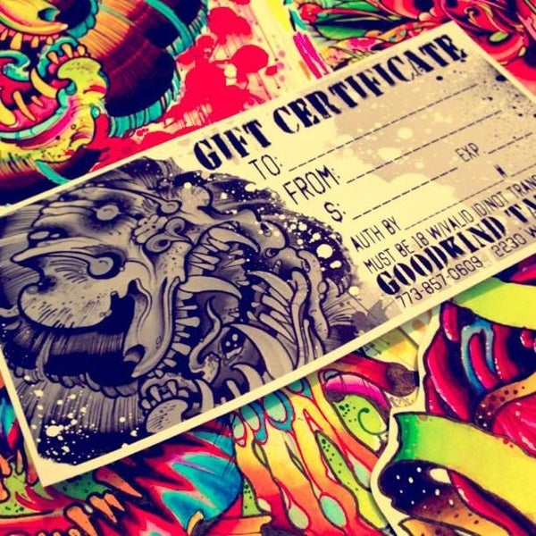 Image of Goodkind Tattoo Gift Card