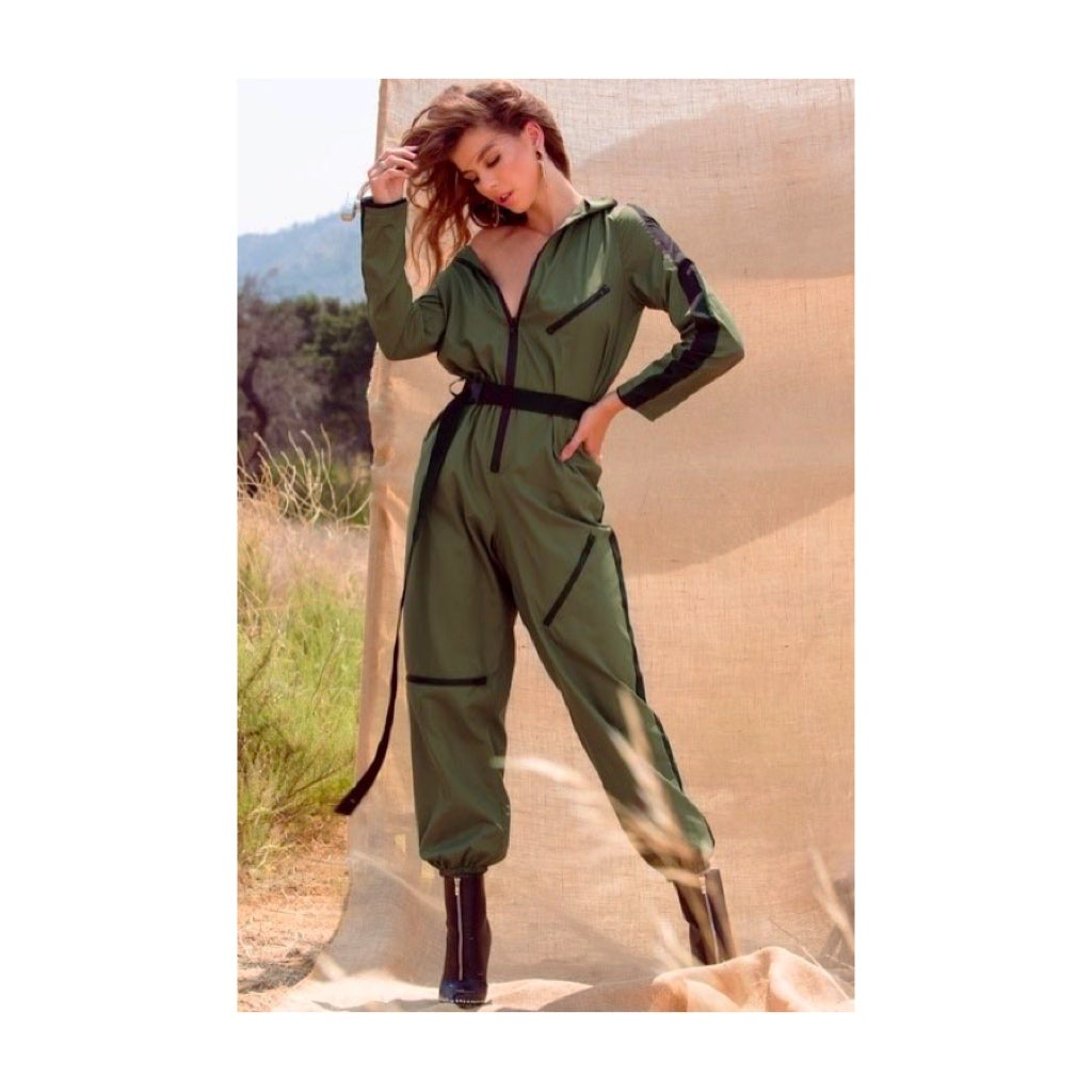 Image of Windbreaker Jumpsuit