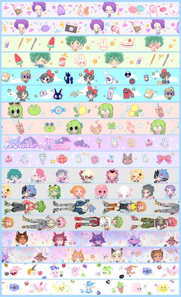 Image of Fanart washi tape