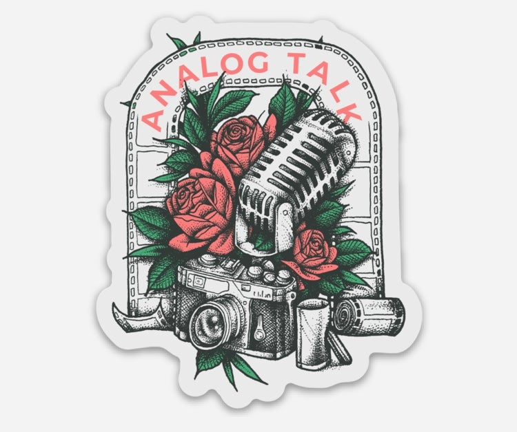 Image of Analog Talk Podcast Stickers