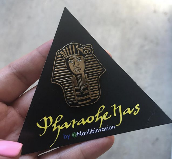 Image of Pharaoh Lapel Pin