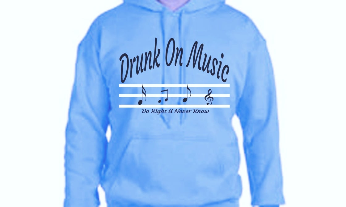Image of DRUNK on Music J.O♥️ Special Baby Blue