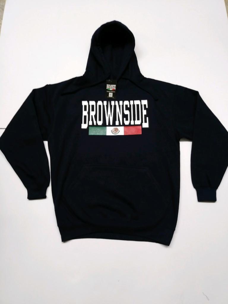 Image of BROWNSIDE LOGO HOODIE
