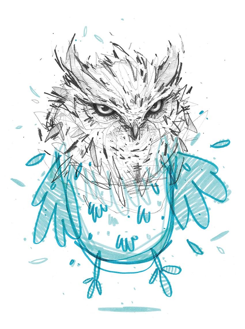"Image of ""Merlin, I quit."" - print"
