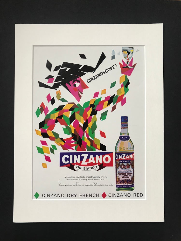 Image of Cinzano Advertisement 1965