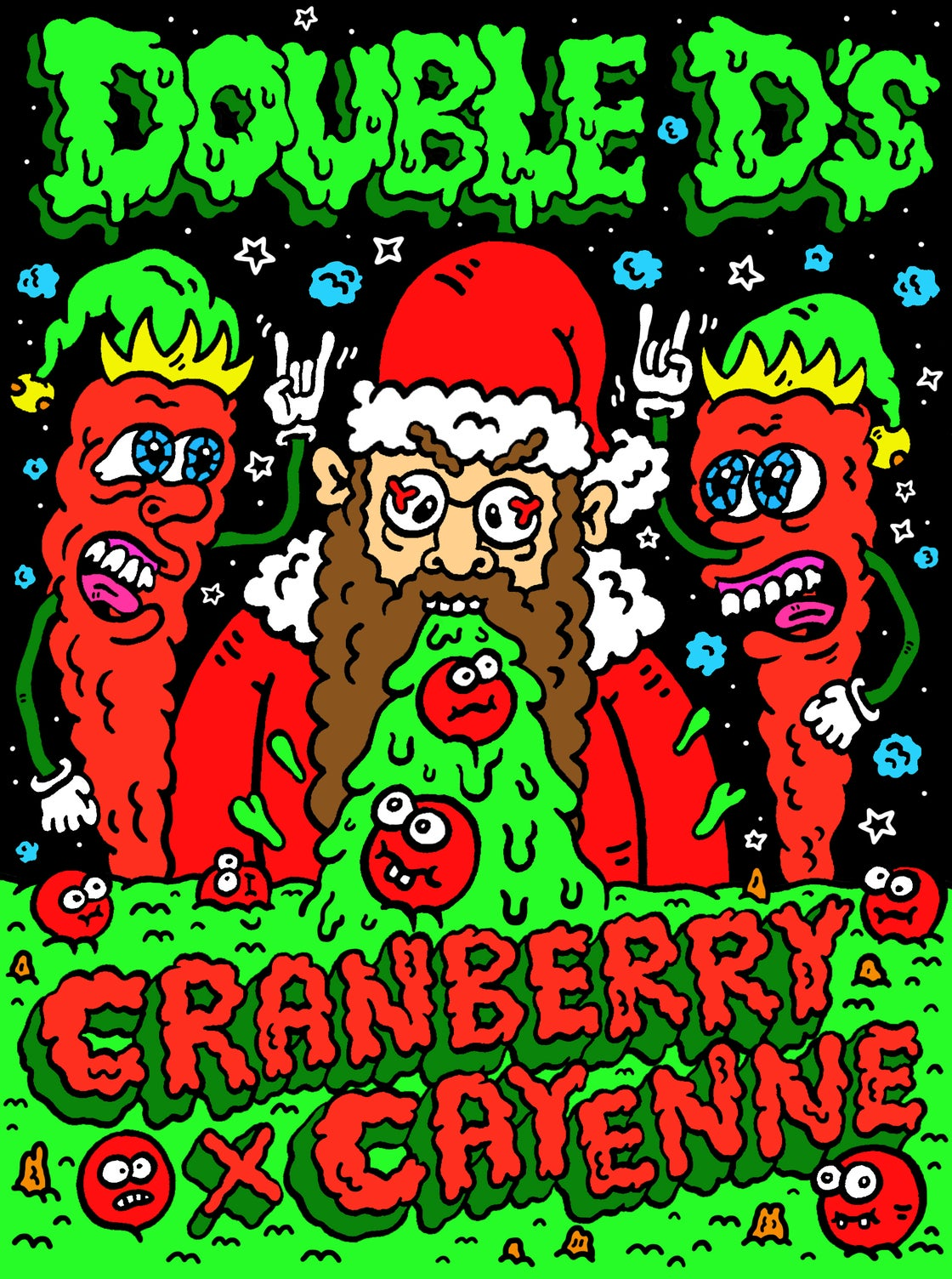 Image of *CHRISTMAS SPECIAL* Cranberry X Cayenne