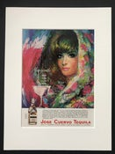 Image of Jose Cuervo Tequila Advertisement 1965 'Margarita Cocktail'