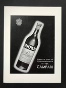 Image of Campari Advertisement 1952