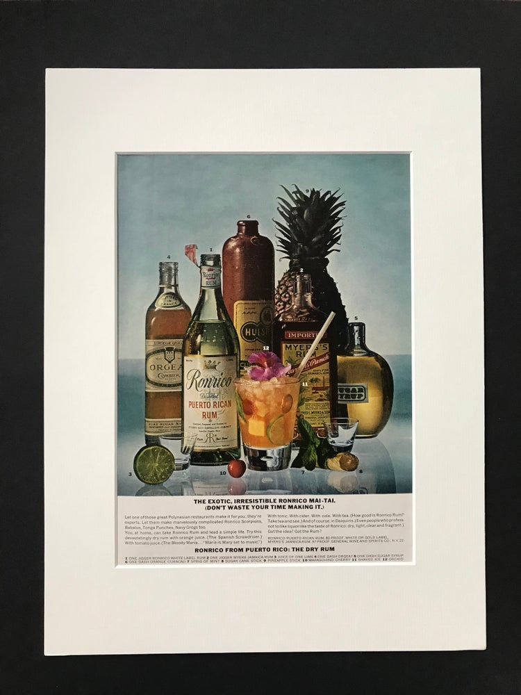 Image of Ronrico Rum Advertisement 1972